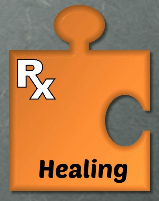 One piece of the puzzle is to focus on healing.