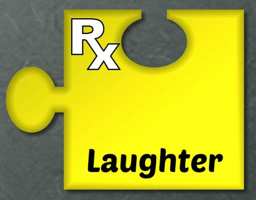 One piece of the puzzle is laughter.