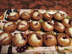 Blackberry, Creamsicle, Banana Muffins