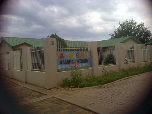 Klerksdorp - a day-care centre right across Saamtrek Primary School