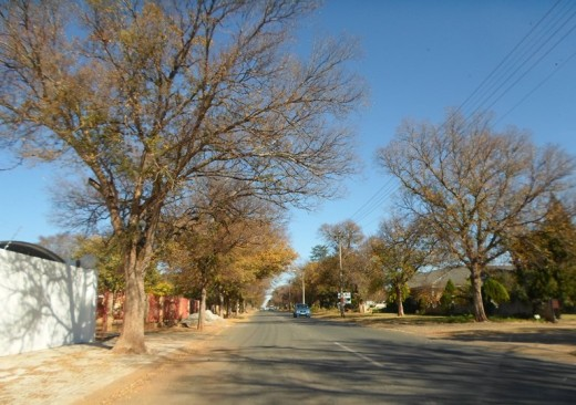 A street in Wilkoppies, Klerksdorp