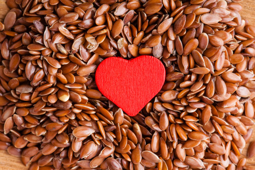 Flaxseeds are rich in fiber which aids in the management of cholesterol levels