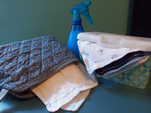Wet and Dry Method Cloth Wipe Storage