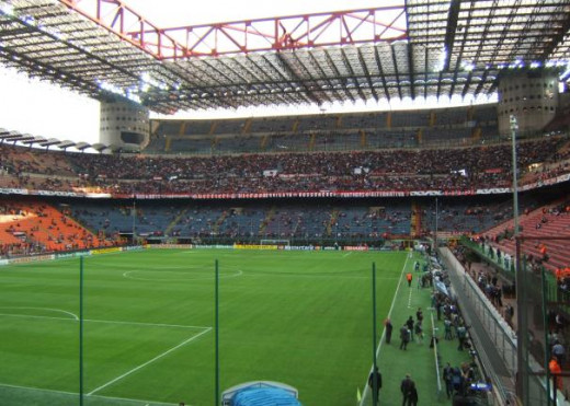 Milan's San Siro Stadium is the home of two Italian clubs: Inter Milan and AC Milan.