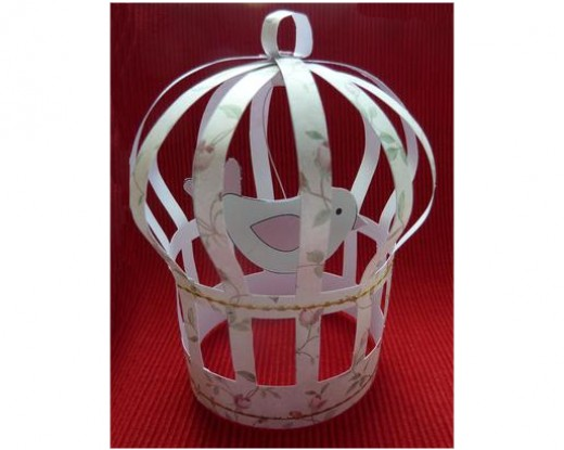 Make a cute bird cage