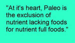 The Paleolithic Diet and its Benefits