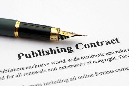 Publishing Contracts are an author's dream come true.
