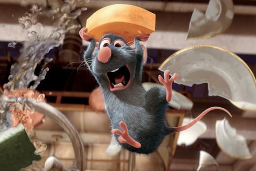 Ratatouille, an Oscar winning delight.