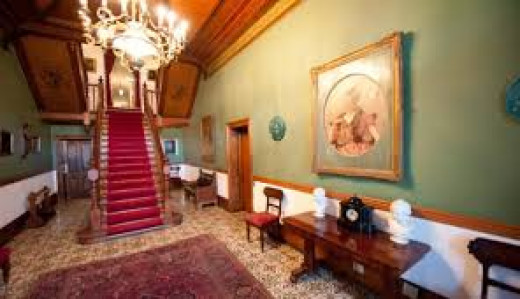 Matjiesfontein - Foyer, Lord Milner Hotel