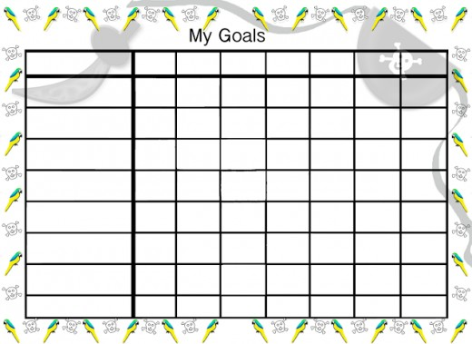 Pirate goals chart.