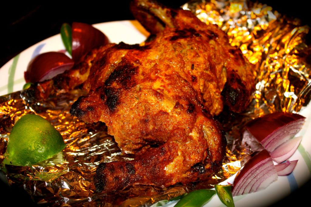 Tandoori Cornish Hen: Dinner For 2