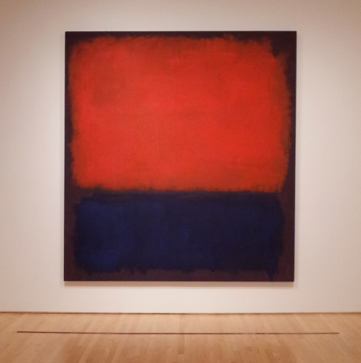 Rothko was one of the greatest abstract artists.