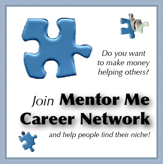 Now recruiting career mentors to share their knowledge and expertise with students, career transitioners and those seeking a post-retirement career. Mentors will work as independent contractors or volunteers. The network is run by Cheryl Rogers.