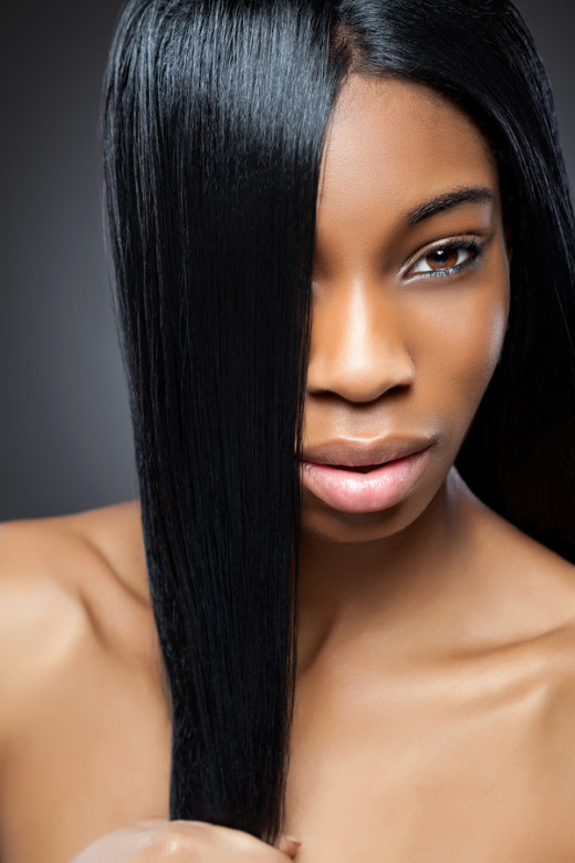 Shea butter is highly effective on hair that is dry and brittle.