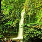 Sawer waterfall at Situ Gunung, Sukabumi.