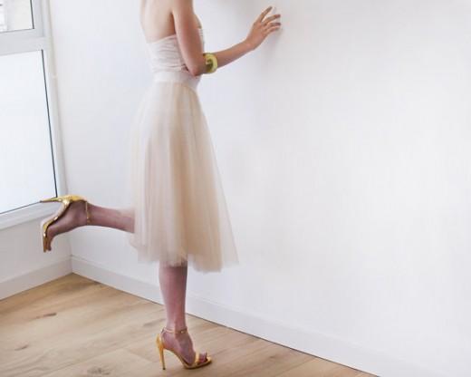 Ballerina-Inspired Tulle Skirt