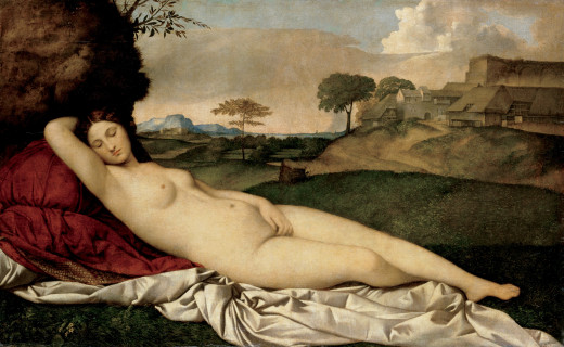 Sleeping Venus, by Giorgione