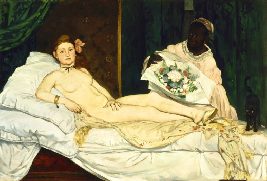 """Olympia"", by Manet"