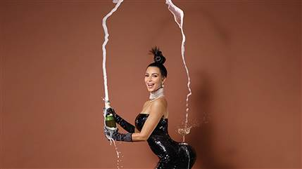 Kim Kardashian for the cover story of Paper magazine