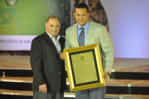 Miguel Cabrera of the Detroit Tigers closely edged out Trout for the MVP in 2012.