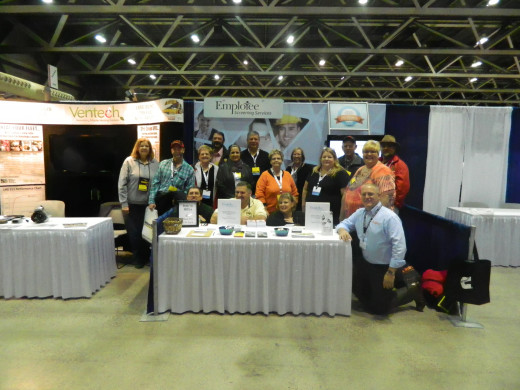 Some of the Missouri Delegates attending the Trade Show