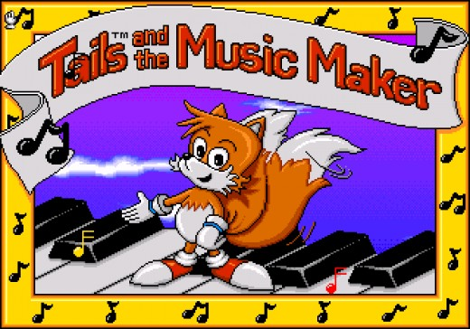 If you count it then Tails was the first to have his own game given that Tails and the Music Maker was released in September 1994