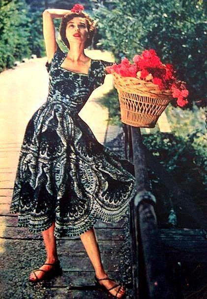 The 1950's summer dress.