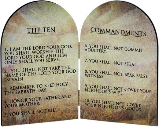 The TEN COMMANDMENTS of GOD (Photo courtesy of : catholictothemax.com)