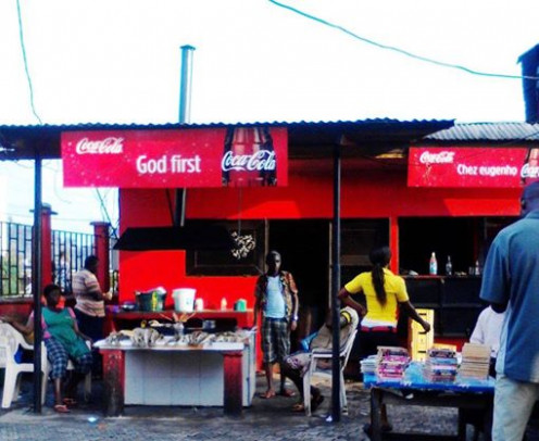 God is first but Coke's advertising budget is a close second