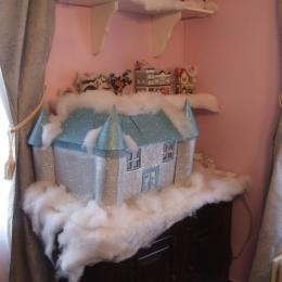 My Homemade Frozen Castle