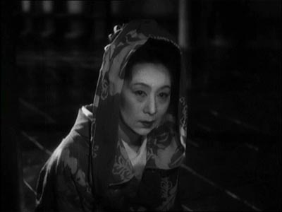 Kinuyo Tanaka as the title character in Mizoguchi's The Life of Oharu (1952)