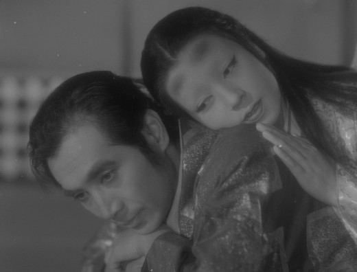 Ghost love is tough: Masayuki Mori and Machiko Kyô in Mizoguchi's Ugetsu (1953)