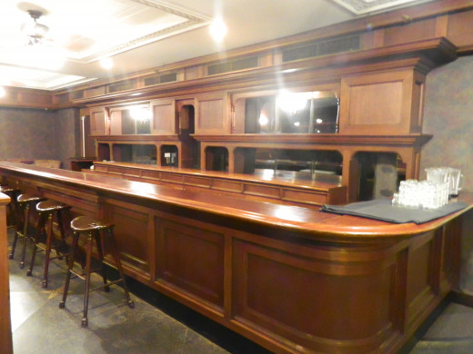 Another view of the bar. Can you see Jack Nicholson sitting there?