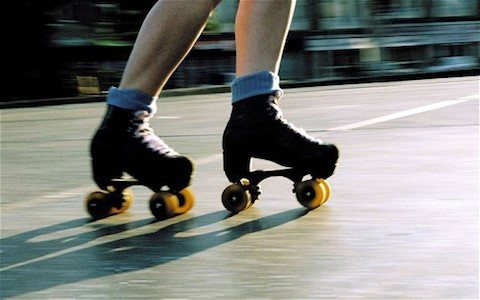 Roller skating to church is a Christmas tradition in Caracus