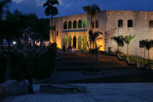 Viceroy Diego Columbus Palace in Colonial Santo Domingo