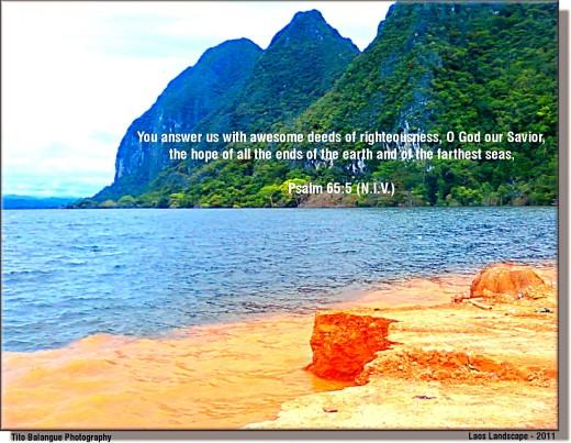 Psalm 65:5 (NIV)