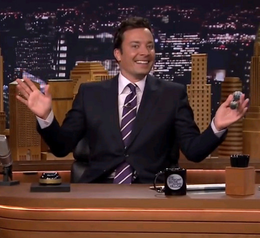 "Jimmy Fallon on ""The Tonight Show Starring Jimmy Fallon"""