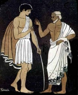 Mentor and Telemachus