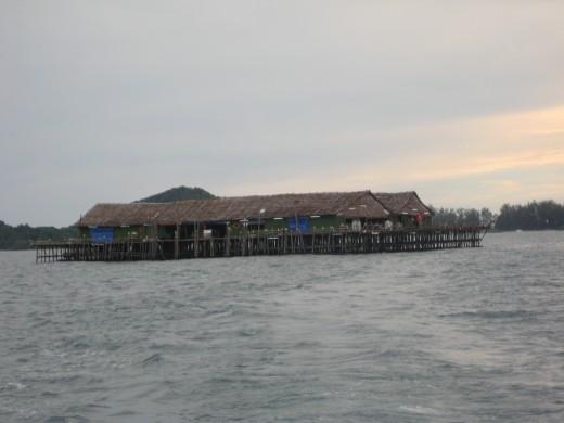 Kelong Fishing in Malaysia