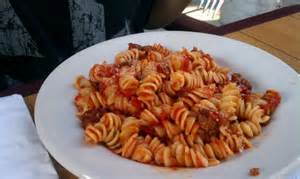 Rotini with Meat Sauce