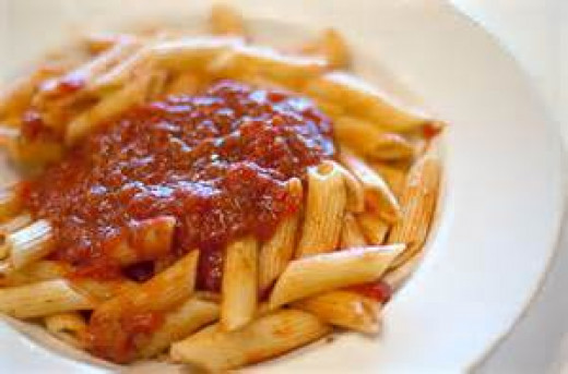 Ziti with Meat Sauce