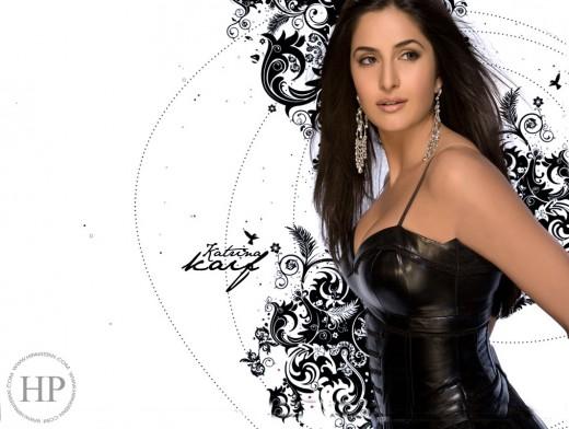 Tight Leather Corset Katrina Kaif Wallpaper