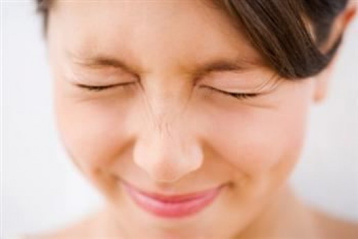 Every time we blink our eyes, tear glands will excrete tears to keep our cornea moisturised.