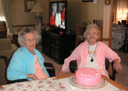 Eighty-seventh birthday celebration