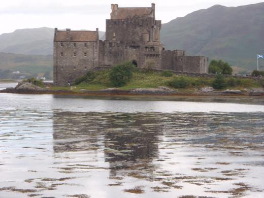 """Eilean Donan Castle """"The biscuit tin castle"""""""