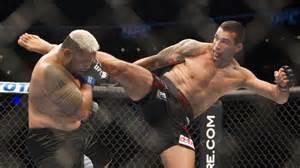 Fabricio Werdum vs Mark Hunt at UFC 180