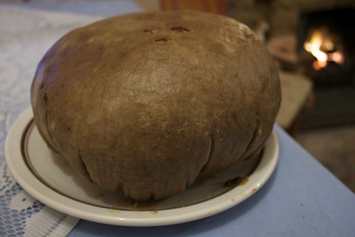 The clootie dumpling, a Scottish dessert