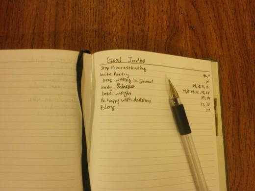 I've already got quite the list going...