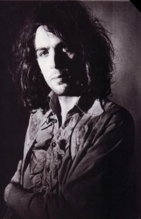 Syd Barrett circa 1969 as a solo artist after Pink Floyd. His appearance would soon change drastically.