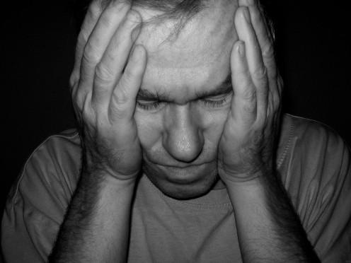 Man with headache: Get this guy an aspirin!.